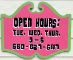 Tamara's Studio Shop Hours